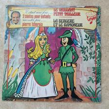 """33 tours Pierre TCHERNIA Vinyle LP 12"""" IL ETAIT UNE FOIS 2 CONTES POUR ENFANTS"""