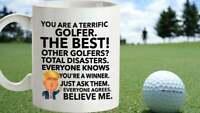 Trump Golfing Mug, Funny Gag Gift For Husband, Funny Dad Gift, Golf Coffee Cup