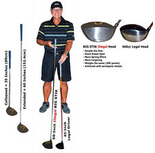 World's Longest and Largest Golf Driver, 5-Feet Long, Double Size Head, ILLEGAL