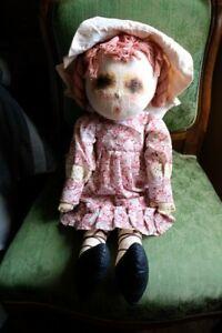Rare Doll Poupée Marie D'O Chiffon (Marie Madeleine TANCRE) Marque déposé 53cm