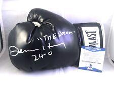 Devin Haney Hand Signed Everlast Boxing Glove Champ Mayweather Beckett Cert BAS