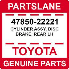 47850-22221 Toyota OEM Genuine CYLINDER ASSY, DISC BRAKE, REAR LH