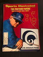 SPORTS ILLUSTRATED JULY 24, 1972 - THE PROTHRO PAPERS