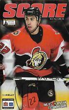 Ottawa Senators Montreal Canadiens 6.4.2006 NHL Hockey Off. Program Kelly Signed