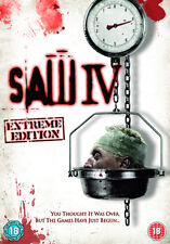 SAW 4 - DVD - REGION 2 UK