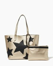 13ebb1435024 Kendall + Kylie Paparazzi Star Tote - Gold Black Holiday Handbag w  Purse  Pouch