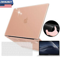2018 For Macbook Air 13 Inch Clear Hard Case & Keyboard & Screen Protector A1932