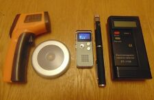 Starter Paranormal Investigation Ghost Hunting Equipment Kit. 5 Items