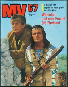MV67 Nr.5 vom 6.3.1967 Winnetou, Eva Renzi, Keith Richard, Michael Caine - TOP