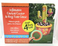 Cactus Piscina Ring Toss Jogos Brinquedo Piscina Inflável Flutuante Criança Adulto Teen