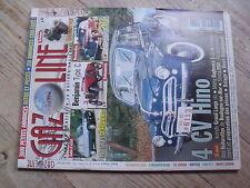 $$ Revue Gazoline N°78 4 CV Hino  Renault 5 Alpine  Benjamin Type C  Peugeot 203