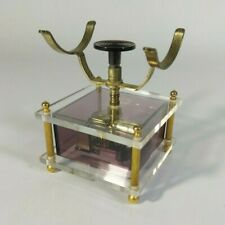 "Vintage 1970's Windup Phone Cradle Music Box Fiji Japan ""Theme From Love Story"""