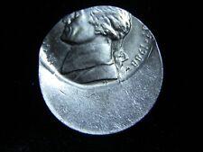 1988 Jefferson Nickel - 50% Off Center Mint Strike Error - 3012