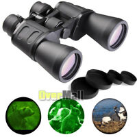 Day&Night Vision 180x100 Zoom Telescope Outdoor Travel Binoculars Hunt w/Case US