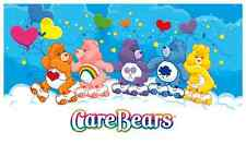 "Care Bears Roller Skating Iron On Transfer 4.5""x8"" for LIGHT Color Fabric"