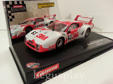 Slot car SCX Scalextric Carrera 27100 Evolution Ferrari 512 BB LM 3M LM 1979