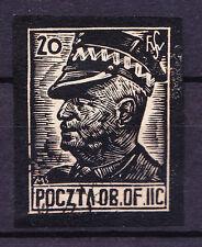 (PL) Polish Officers POW Camp Woldenberg Fi 31 used expertised by Szymczak