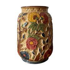 More details for vintage hj wood staffordshire pottery indian tree vase