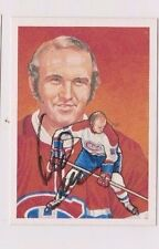 1987 McDiarmid Hockey HOF Autographed Card of Jacques Lemaire Montreal Canadiens