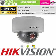 MINI PTZ HIKVISION Outdoor IP Network Camera 4x Auto Zoom 2.8-12MM 2MP 1080P WDR