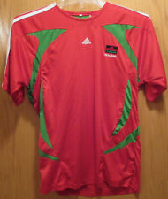 Adidas Mens Soccer Football Jersey Malawi National Team Flag Logo Size Medium M