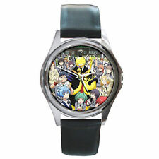 Assassination Classroom Kid's boys girls mens womens unisex leather wrist watch