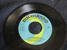 """Diego Verdaguer """"Soy Un Tonto Sin Tu Amor/El Pasadiscos"""" 45"""