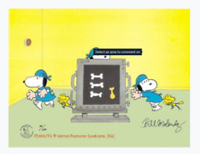 Peanuts-Dr. Snoopy? Limited Edition Cel Set Signed by Melendez