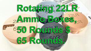 22LR Ammo Box. Hunting & Competition Ammo Organizer. Safe Carry and Easy Access.