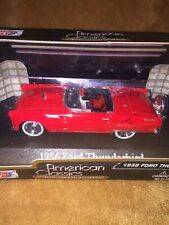 NEW 1956 FORD THUNDERBIRD 1:43 Motor Max American Classics Model Diecast