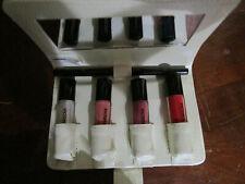 Victoria Jackson Cosmetics Gloss kit 4 colors with nude lip pencil unused