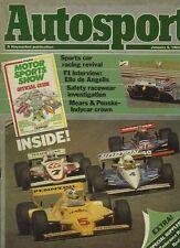 Autosport January 6th 1983 *Elio De Angelis Interview*