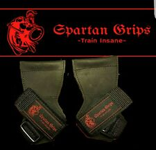 Spartan Grips Pro Strength Lifting Grips Versa Straps 1 Pair **Power Lift**