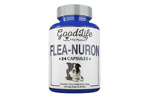 2 Year Supply 24 Capsules Monthly Flea Control For Dogs 45-90lbs 410mg