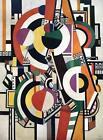 """Fernand Leger - """"The Discs 1918""""   Giclee  Canvas Print (Unframed) 30"""" x 22"""""""