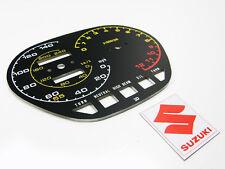 1982-83 gs1100 gs1100sz katana speedometer tachometer GAUGE FACE PLATE mph miles