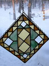 Stained Glass Suncatchers South Western Look, Patina Finish,