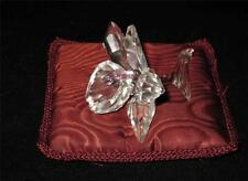 """Swarovski Crystal Ultra Light Pink Orchid on Pillow 2 3/4"""" Wide"""