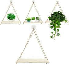 Wooden Hanging Shelf Wall Floating Shelves Storage Storage Rack Wall-mounted
