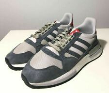 Brand-new Men's Adidas ZX 500 RM Gray/White/Scarlet Sneakers in US 11