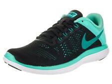 NIKE RUNNING SHOES FLEX 2016 RN BLACK TEAL WOMEN SIZ 8.5 NEW 830751-005 FLY WIRE