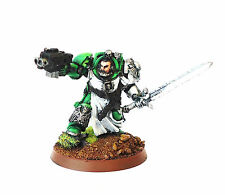WARHAMMER 40K ARMY  SPACE MARINE TERMINATOR CAPTAIN PART  PAINTED  AND BASED