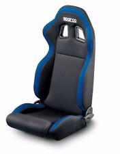 SPARCO R100 TUNER SERIES RACING SEAT - BLACK WITH BLUE