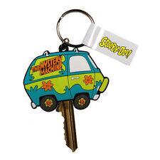MYSTERY MACHINE PVC KEY COVER RETRO GIFT KEYRING METAL LOOP SCOOBY DOO SHAGGY