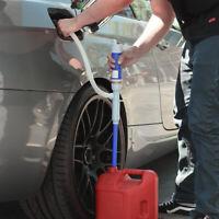 Gasoline Transfer Pump Manual Hand Use Siphon Kit Fuel Diesel Oil Kerosene Water