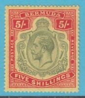 BERMUDA 52 MINT  HINGED  OG *  NO FAULTS EXTRA FINE