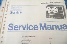 Manuel d'instructions pour Philips N SERVICE 4511, original