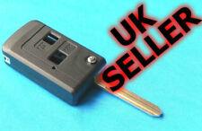 FOR Toyota 2 Button Flip Key Fob case Celica, Avensis