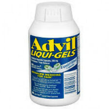 ADVIL LIQUI-GELS 240 CAPSULES BRAND NEW