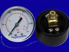 "Air Compressor Parts AIR Gauges Tank 1/8"" NPT / Hydraulic MAke Offer Deal Sale"